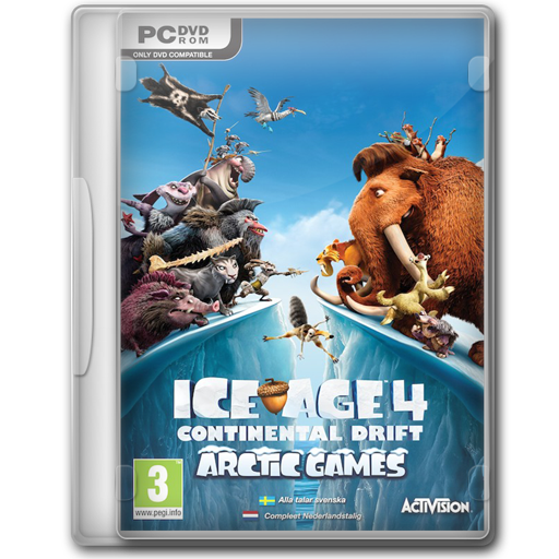 Ice Age Continental Drift Arctic Games Icon
