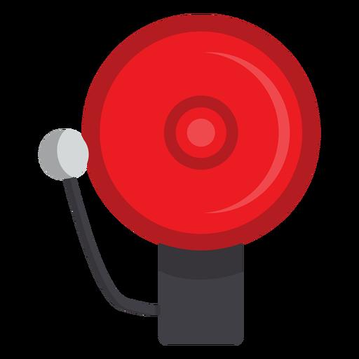 Firefighter Alarm Bell Illustration