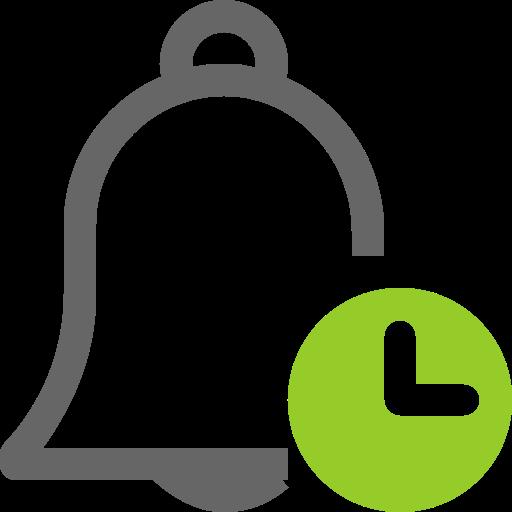 Alarm, Clock, Bell Icon Free Of Mini Icons