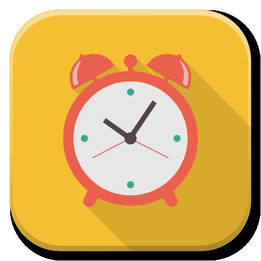 Apps Alarm Icon Flatwoken Iconset Alecive