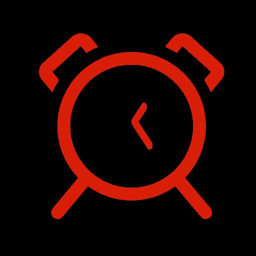 Alarm,clock Icon Free Icons Uihere