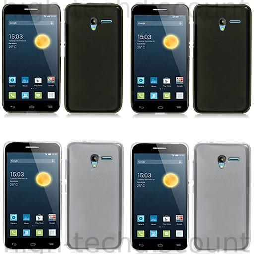 Housse Etui Coque Silicone Gel Fine Pour Alcatel One Touch Pixi