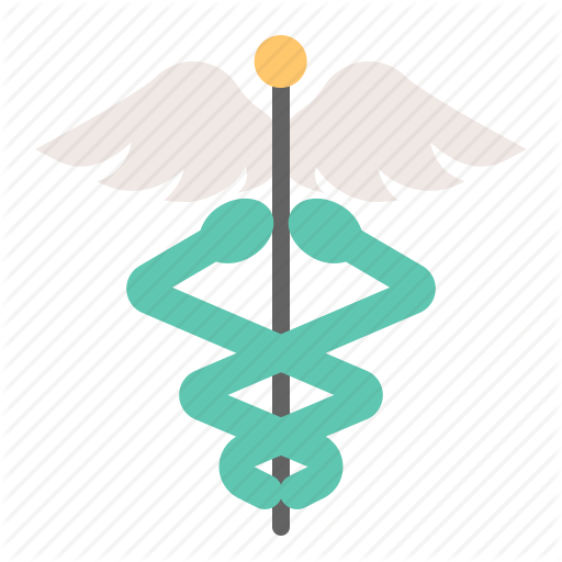 Alchemy, Caduceus, Medical, Serpent, Snake, Trade, Wing Icon