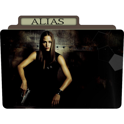 Alias Icon Tv Movie Folder Iconset Aaron Sinuhe