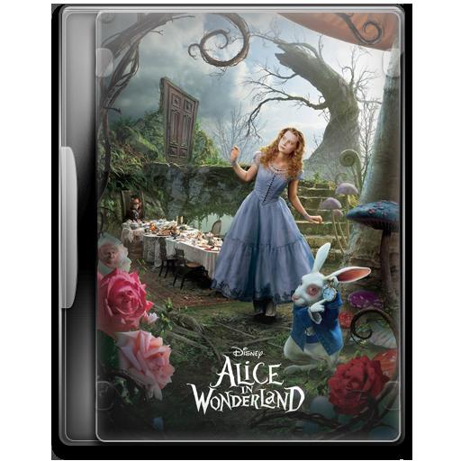 Alice In Wonderland Icon Movie Mega Pack Iconset