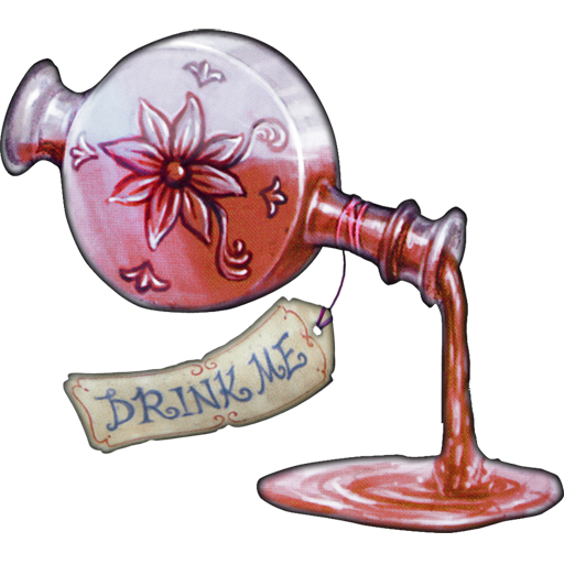 Alice Madness Returns Eat Me Drink Me Drink Me Potion Icon Art