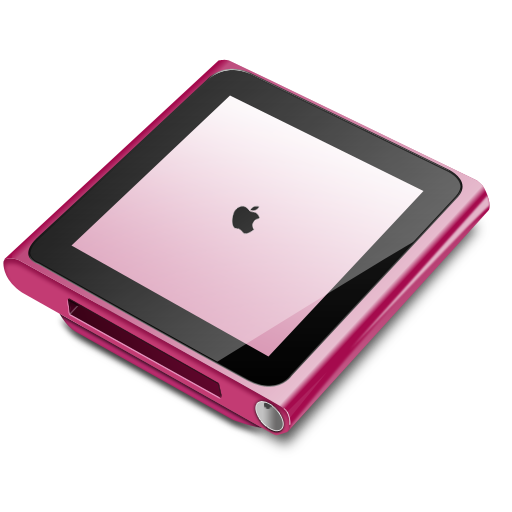 Ipod Nano Pink Icon Ipod Nano Iconset Robsonbillponte