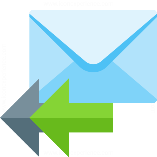 Iconexperience G Collection Mail Reply All Icon