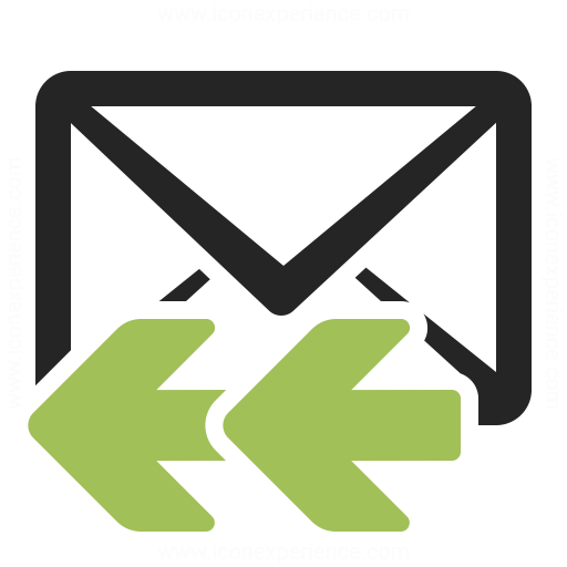 Mail Reply All Icon Iconexperience