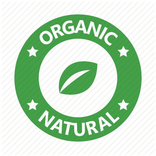 Badge, Leaf, Natural, Organic Icon