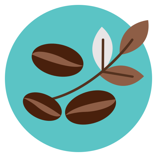 Coffee, Bean, Leave, Leaf, Natural Icon Free Of Coffee Store