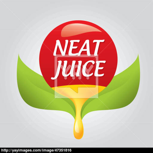 Styled Icon Natural Taste Vector