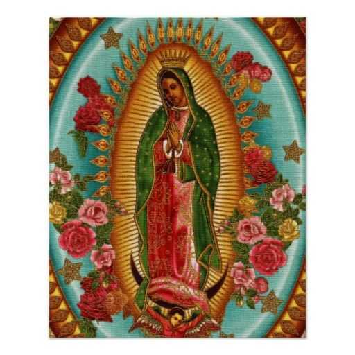 Guadalupe Mexican Virgin Mary Catholic Miracle Mexico Virgin