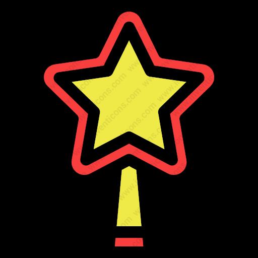 Download Decorative,five,pointed,star Icon Inventicons