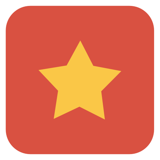 Star Icon Flat Christmas Iconset Fps