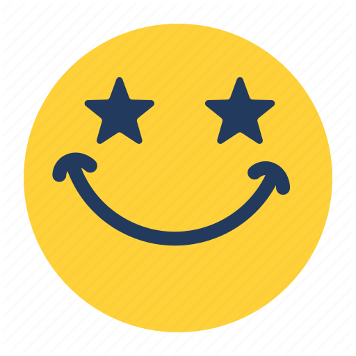 Awesome, Emoji, Emoticon, Emotion, Face, Feeling, Star Icon