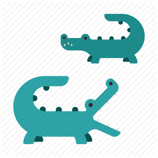 Africa, Alligator, Animal, Crocodile, Predator, Reptile, Zoo Icon