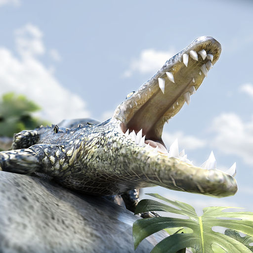 Alligator Simulator Wild Animal Crocodile Run Games For Free