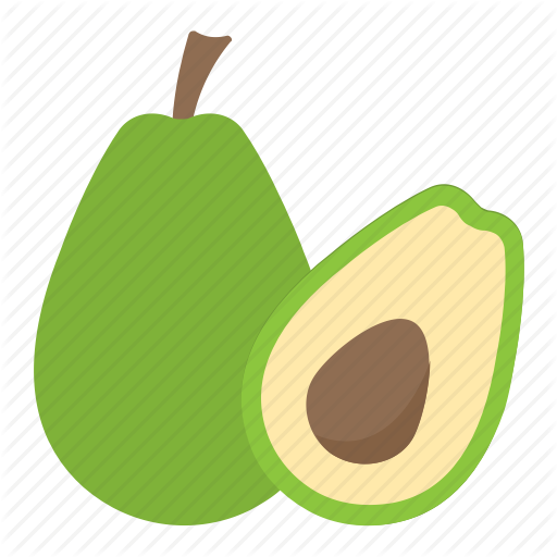 Alligator Pear, Avocado, Avocado Pear, Fruit, Pear Icon