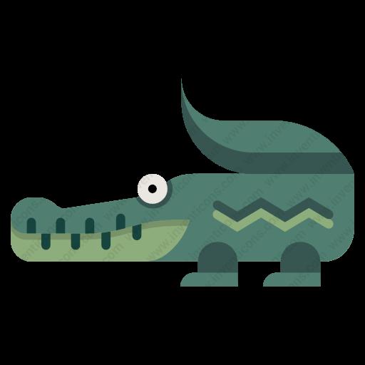 Download Crocodile Icon Inventicons