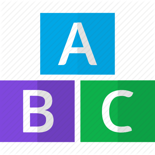 Abc, Alphabet, Aplphbets, Capital, Letters Icon