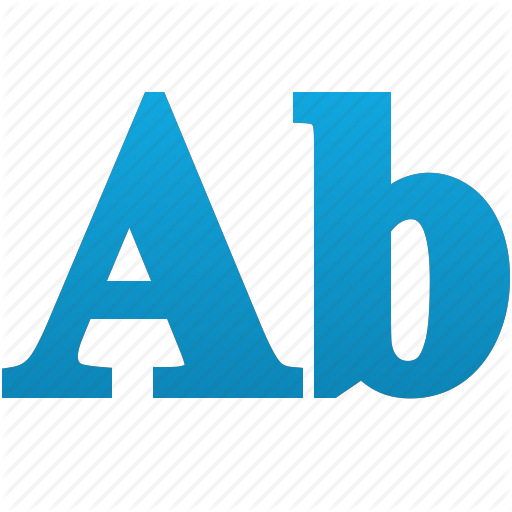 Abc, Alphabet, Design, Font, Style, Words, Write Icon
