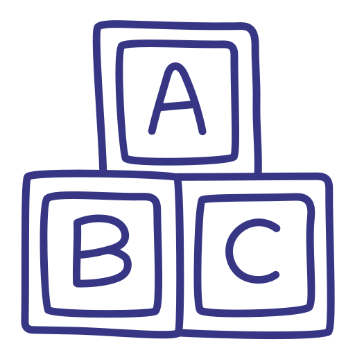 School, Abc, Alphabet Icon Free Of School Outline Hand Drawn Icons