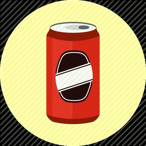 Aluminium, Aluminum, Beverage, Cola, Drink, Fizzy, Soda, Tin Can Icon