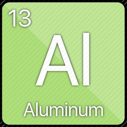 Aluminum, Atom, Atomic, Basic Metal, Element, Periodic Table Icon