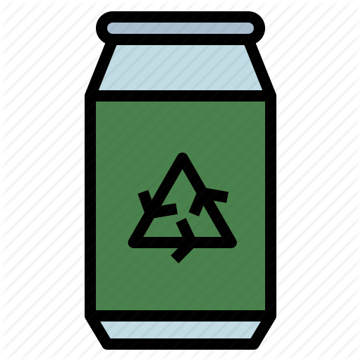 Aluminum, Can, Recycle, Recycling, Reuse Icon