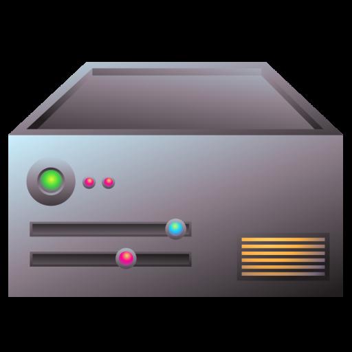 Server Aluminum Icon Server Iconset Teekatas Suwannakrua