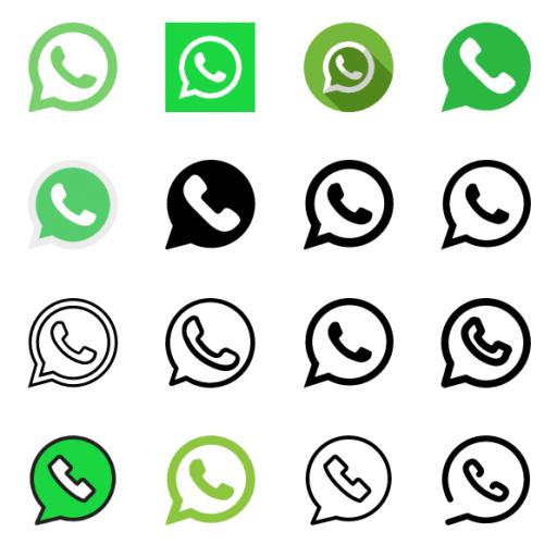 Whatsapp Icons Logo Vector Free Download