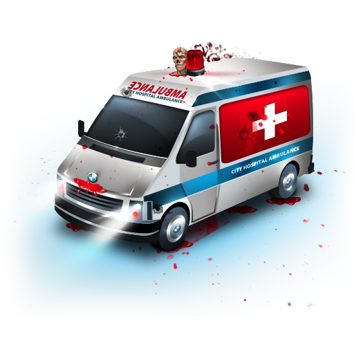 Zombie Ambulance Icon