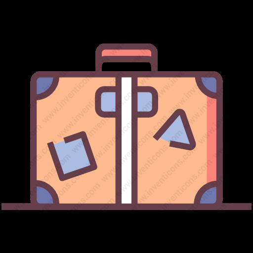 Download Baggage Icon Inventicons