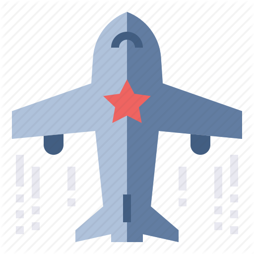 Airline, Airplane, Collect, Miles, Travel Icon