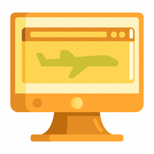 Airline, Flight, Landing, Landing Page, Page, Website Icon