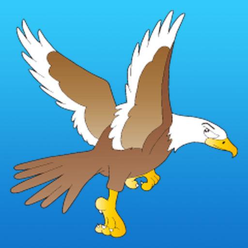 American Bald Eagle Sticker
