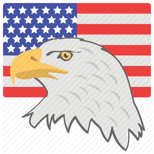 American Eagle Day, American Flag, American National Bird, Federal