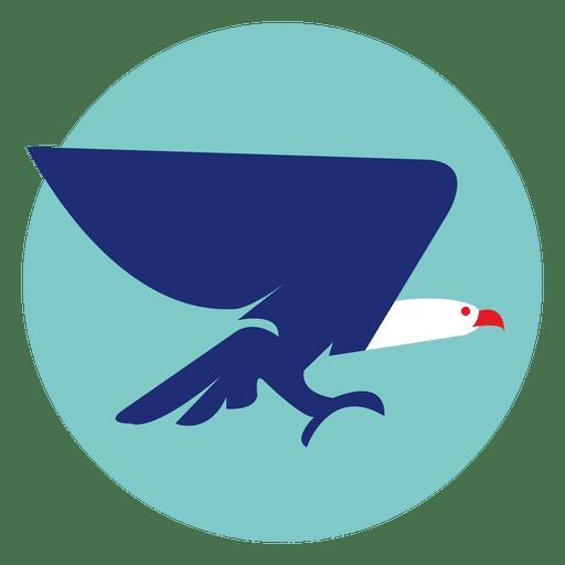 Eagle Round Icon