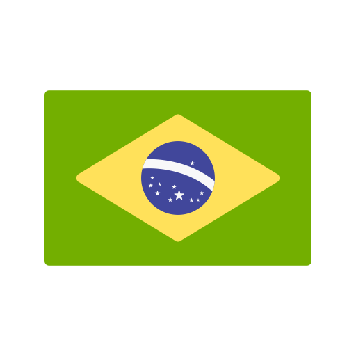 Brazil, Country, Flags, Nation, South America, Flag Icon