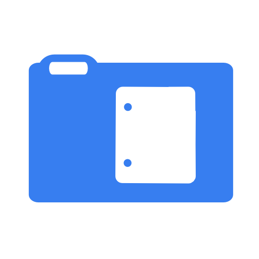 Documents Of Blue Flag Icons Free Icons Download