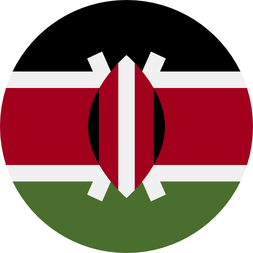 Kenya, World, Flag Icon