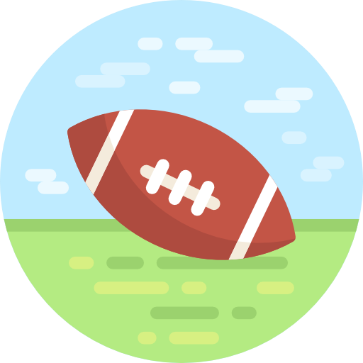 American Football, Team Sport, Sports And Competition Icon