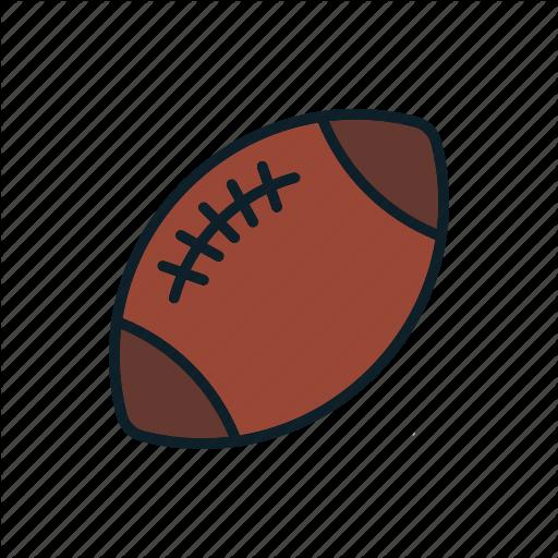 American Football, Ball, Sport, Usa Icon