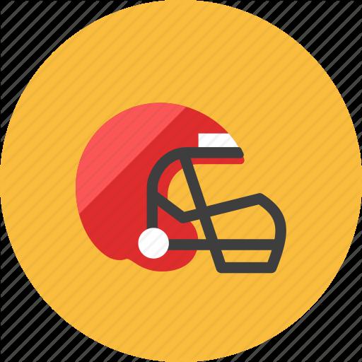 American Football, Helmet Icon