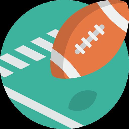 Ball, Sport, American, Football Icon