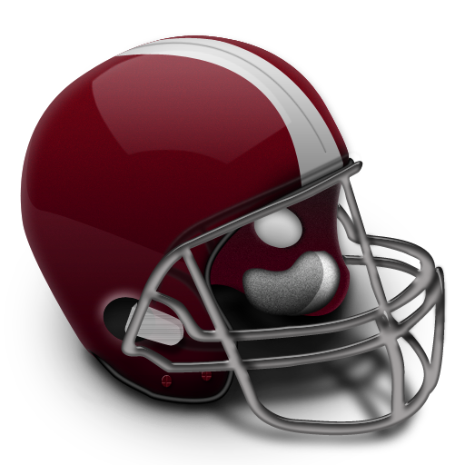 Football Helmet Colored Icon