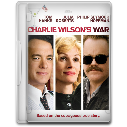 Covers, Cover, Charlie, Wilsons, War, Movie, Movies Icon Free
