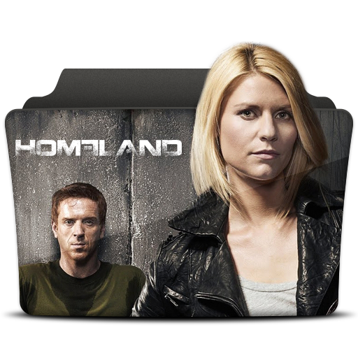 Homeland Icon Tv Series Folder Pack Iconset