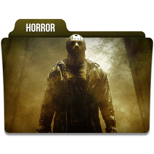 Horror Icon Movie Genres Folder Iconset Limav